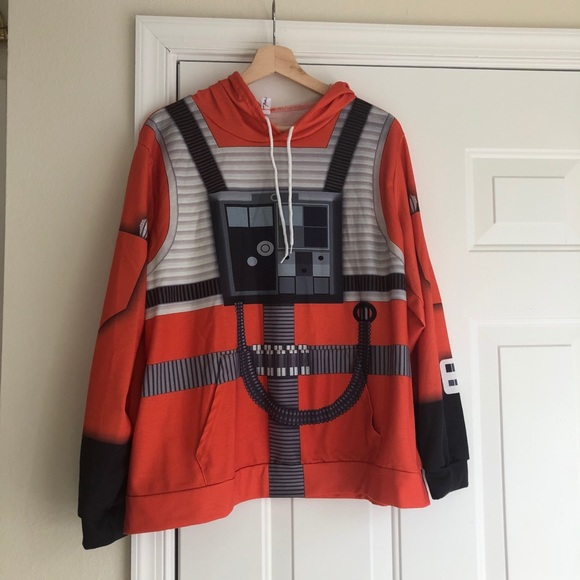 Star Wars rebel squadron pilot hoodie